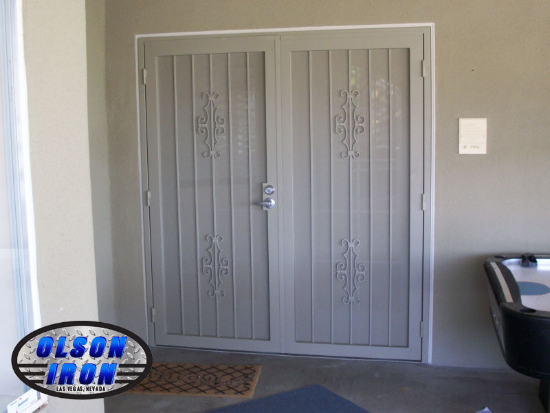 Exceptionnel Custom Wrought Iron Security Doors And Bars | By Olson Iron, Las ...